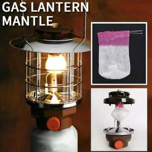 10pcs Lantern Mantles Kerosene Lamp Mantle Paraffin Lamp Gas Light Cover