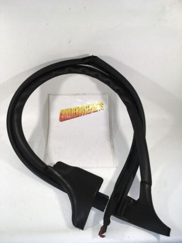 2007-2013 SILVERADO SIERRA EXTENDED CAB DRIVER REAR DOOR WEATHER STRIP 25862440
