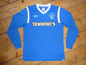 1237ccc840d Image is loading large-Glasgow-Rangers-FOOTBALL-Shirt-Rangers-FC-Soccer-