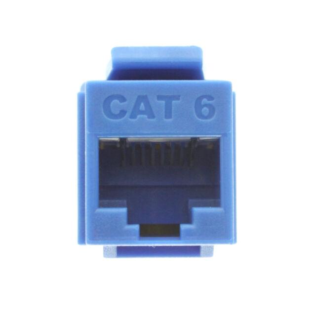 On-Q Legrand Cat 6 RJ45 Data Jack Insert WP3460-BE-V1 Blue