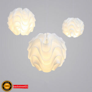 Modern le klint led pendant light white plastic shade suspension image is loading modern le klint led pendant light white plastic aloadofball Image collections
