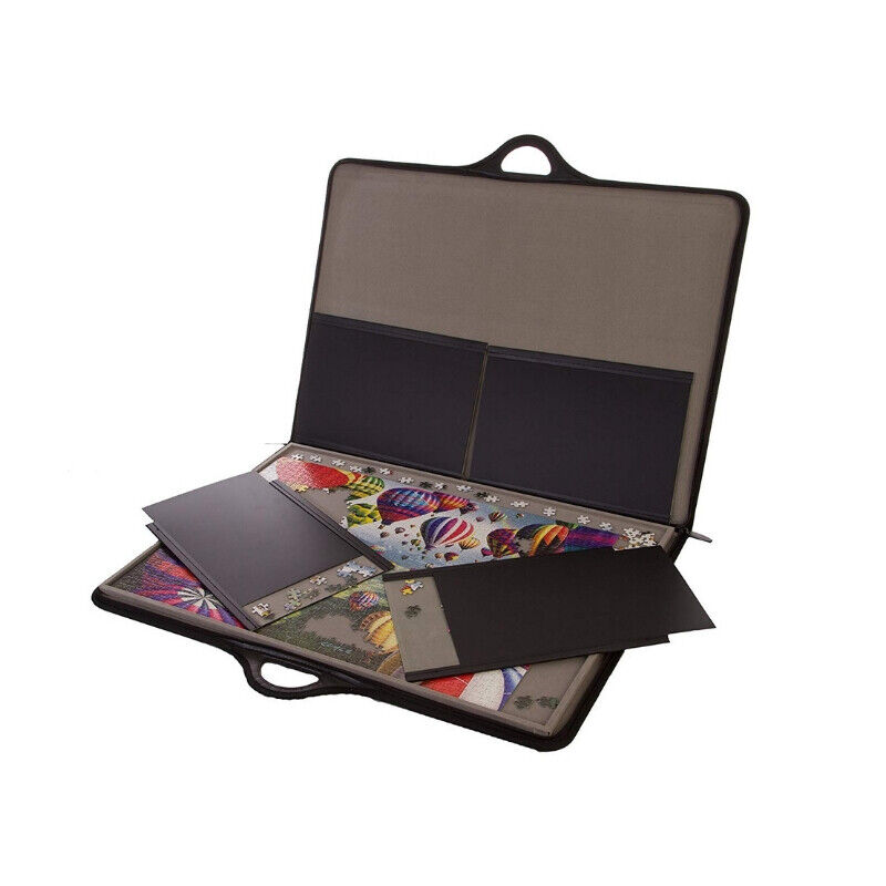 1000 Pieces Puzzle Jigsaw Accessory Board Table Travel Game Carry Case