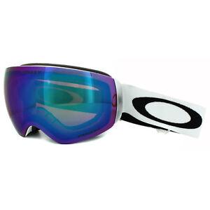 5373836baba Oakley Ski Snow Goggles Flight Deck XM OO7064-23 Matt White Prizm ...