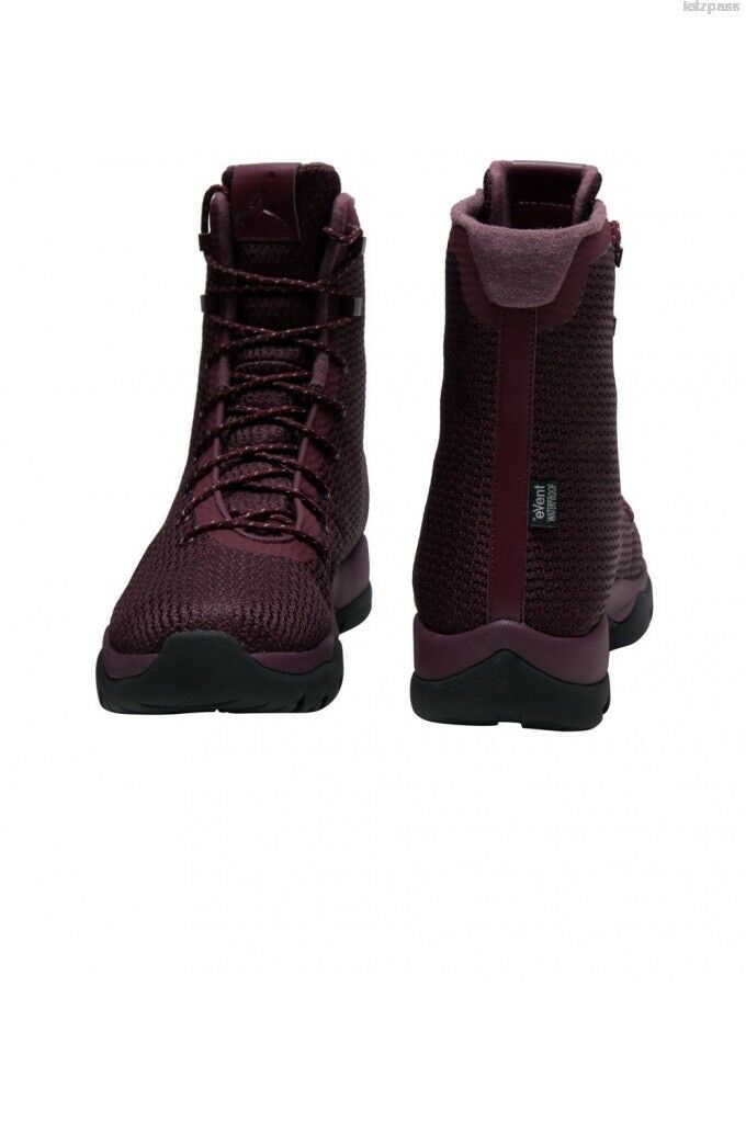 Nike Air Jordan Jordan Jordan Future Boot Sz 15 Maroon Burgundy Red Black Boots SFB 854554-600 267100