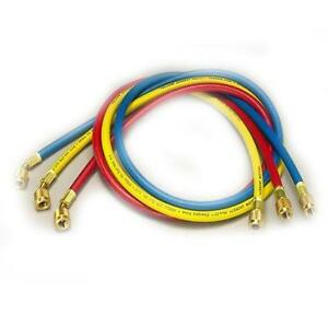Yellow-Jacket-21983-36-034-3-Pak-Hav-Standard-Fitting-Plus-II-1-4-034-Charging-Hose