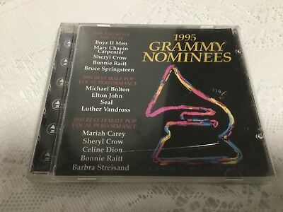 1995 GRAMMY NOMINEES CD ALBUM BEST OF THE YEAR MUSIC SONY ...