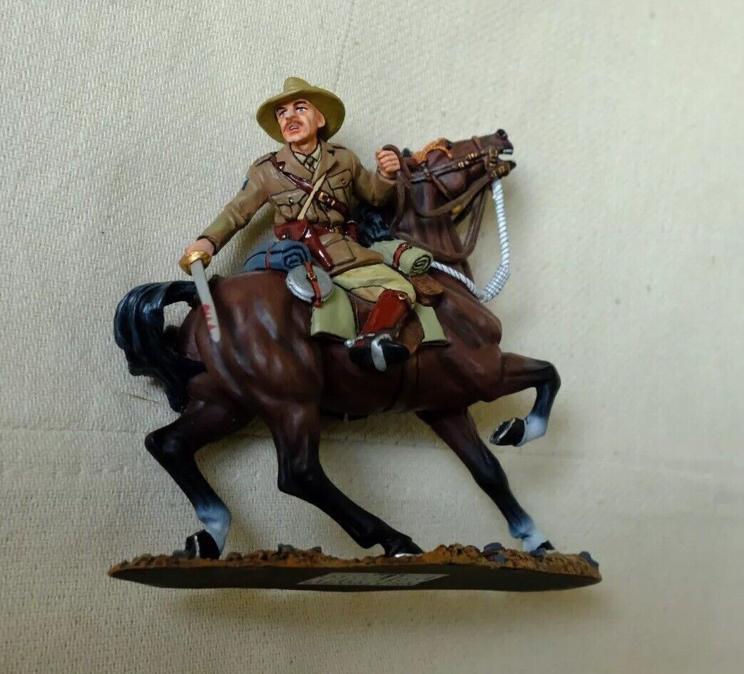 King And Country Australian Light Horse AL51 The Swordsman Soldier Soldier Ww1