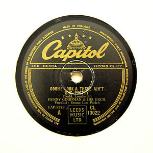 BENNY-GOODMAN-ORCHESTRA-034-Oooh-Look-A-There-034-E-CAPITOL-13022-78-RPM