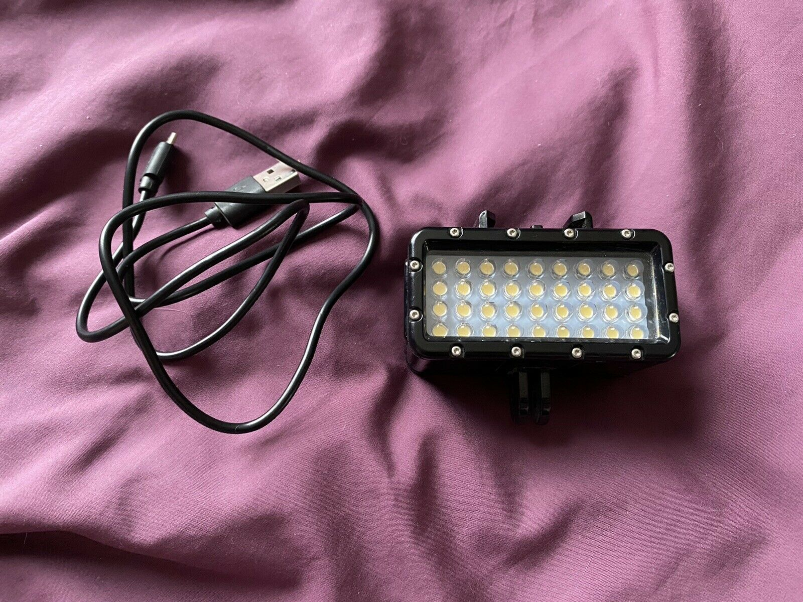 Suptig Waterproof Light For GoPro, LED Video Light