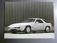 """1985 Porsche 928 S Coupe B&W Press Factory Issued Photo """"Werkfoto"""" RARE! Awesome"""