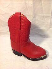 Girls Durango Red  Boots Size 5.5