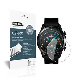 2x-Huawei-Watch-GT-2-46mm-Pellicola-Protettiva-Protezione-Vetro-Flessibile-9H