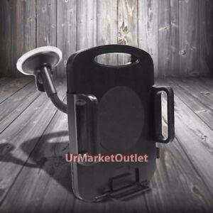 "Universal Car/SUV 7""Long Arm Windshield 360 Rotating Tablet Mount Holder Cradle"