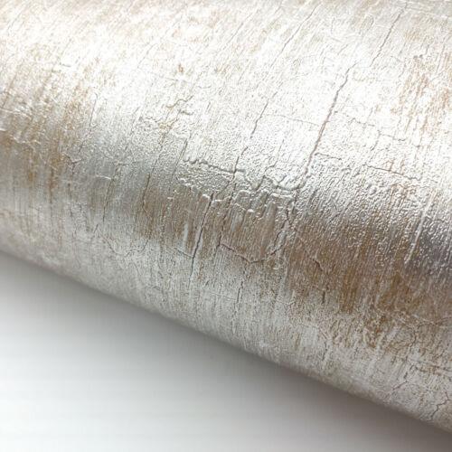 Silver Metallic Glitter Shinny Peel and Stick Wallpaper Embossed Interior film