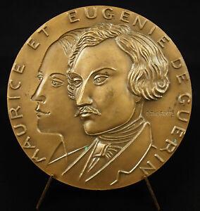 Medaglia-Maurice-e-Eugenie-Della-Guerin-il-Centauro-Tarne-Poeta-Poesia-Medal