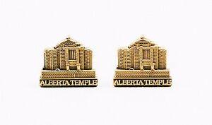 Cardston-Alberta-Canada-Temple-Cufflinks-Mormon-LDS-Canadian-Latter-Day-Saint