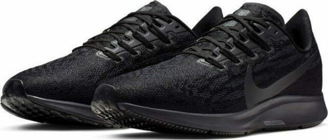 check out b7a95 a9aaa Nike Air Zoom Pegasus 36 Running Shoes Black Gray AQ2203-006 Men's NEW