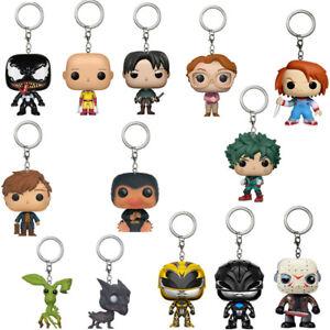 Funko-POP-Chucky-Venom-Thestral-Barb-Ranger-Saitama-Keychain-Figure-Toys-No-Box