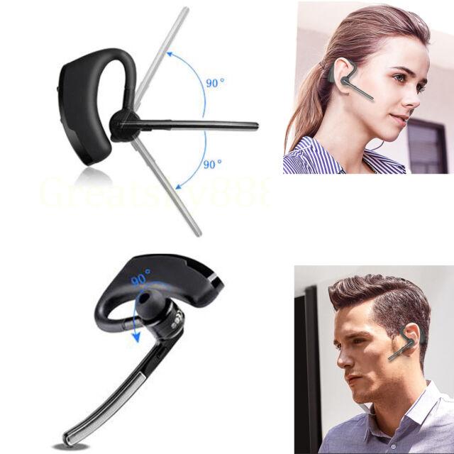 Bluetooth Headset Wireless Business Headphone In Ear Sports Running Earbud Mic For Sale Online