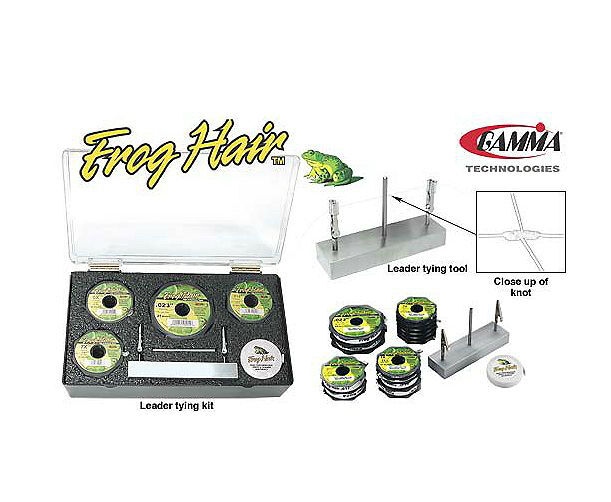 Frog Hair Leader Tying Kit Monofilament FlyFishing  -  Brand New - Free Shipping