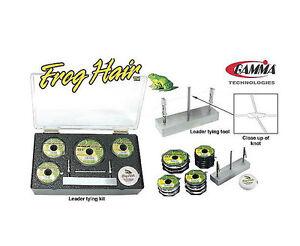 Frog-Hair-Leader-Tying-Kit-Monofilament-FlyFishing-Brand-New-Free-Shipping