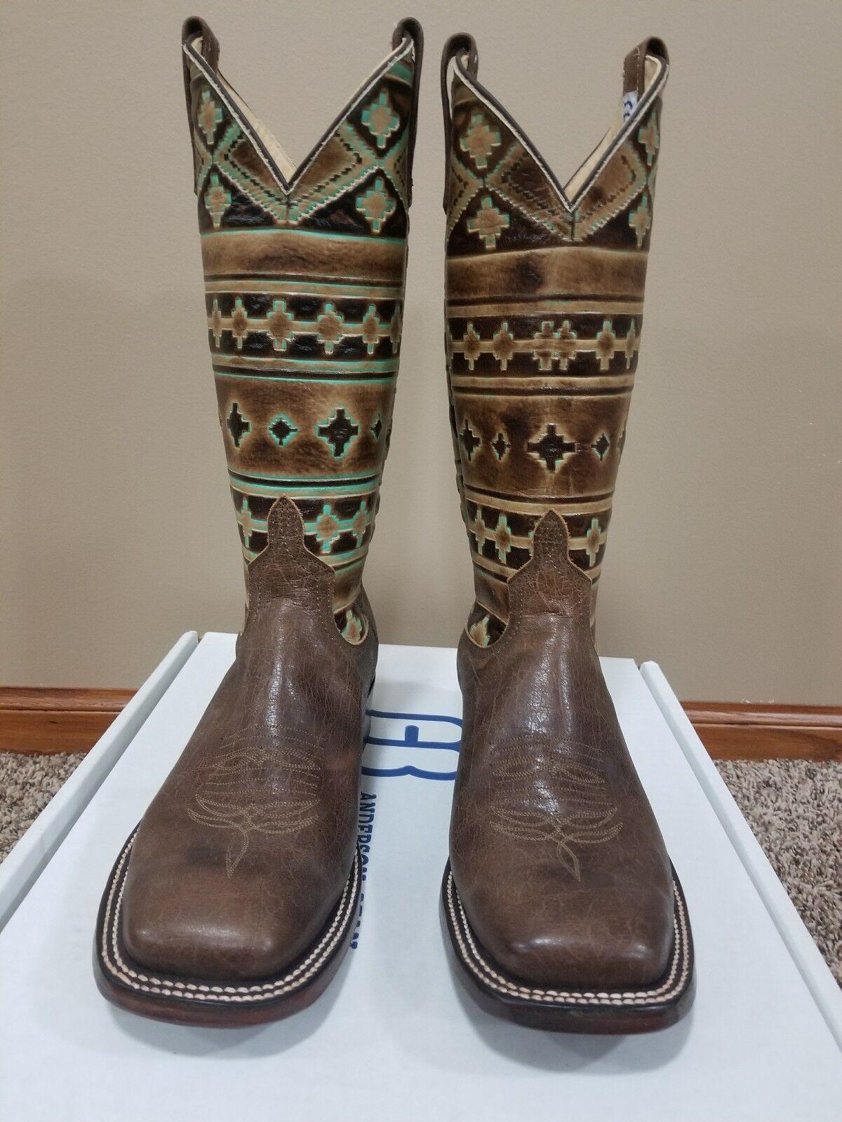 Custom Anderson Bean Boots Size 9 B