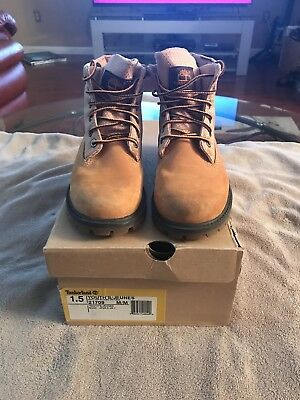 Timberland Roll Top Boots Boys