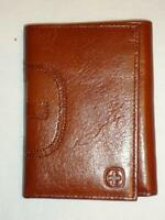 Swiss Gear Polished Genuine Leather Wallet,brown