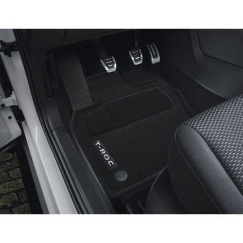 VW Tappetini Tessili OPTIMAT T-Roc 2ga061445 WGK Tappetini Tessuto 4 pezzi Set di tappetini