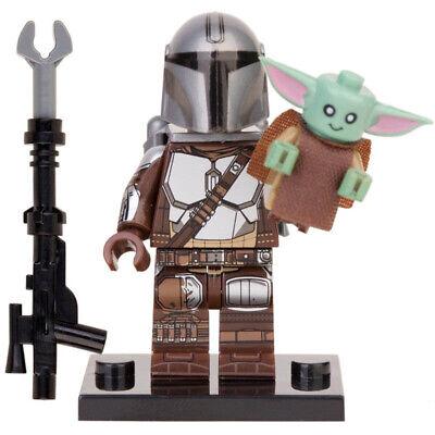 Star Wars Mandalorian Baby Yoda Mini Figures Building Blocks Compatible Toy Leog