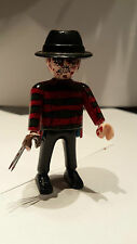 playmobil halloween terror freddy krueger custom