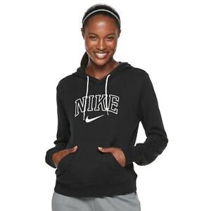 M Con Spugna Nike Felpa Vintage Sportivo Donna Abbigliamento Cappuccio qvznZ8SY