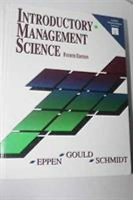 Introductory Management Science
