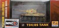 Easy Model Mrc 1/72 T34/85 Tank Egyptian Army Built Up 36272