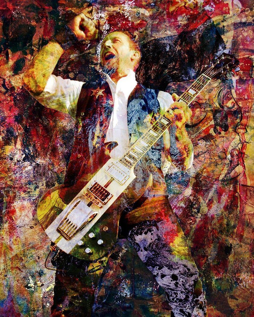 Volbeat Art Print, Volbeat Canvas, Heavy Metal Poster