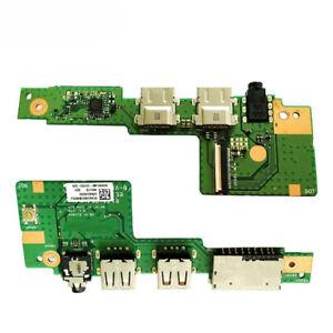 Original FOR ASUS N55S N55SF IO BOARD WORKS USB AUDIO JACK BOARDTested