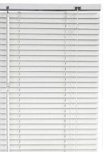 Tenda veneziana tende veneziane colore bianco in pvc 120x160 cm finestra bianca ebay - Veneziana finestra ...