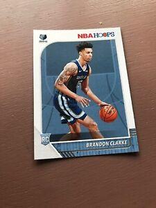 Brandon-Clarke-Rookie-Card-2019-20-Panini-Hoops-Basketball