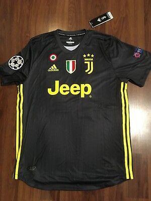Juventus 2018/19 Away Mario Mandzukic #17 Jersey size L Champions League | eBay