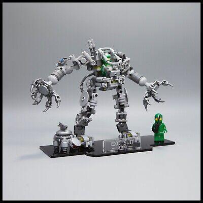 EXO SUIT Acrilico Display Stand per LEGO modello 21109