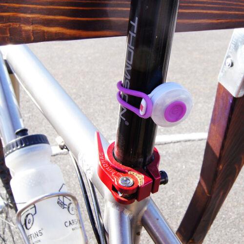Red Light Splash proof Lot of 2 Silva Sweden Bike SIMI Safety Light IPX6