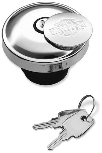 Genuine Harley Davidson Bar /& Shield Self Lock GAS CAP 61100129