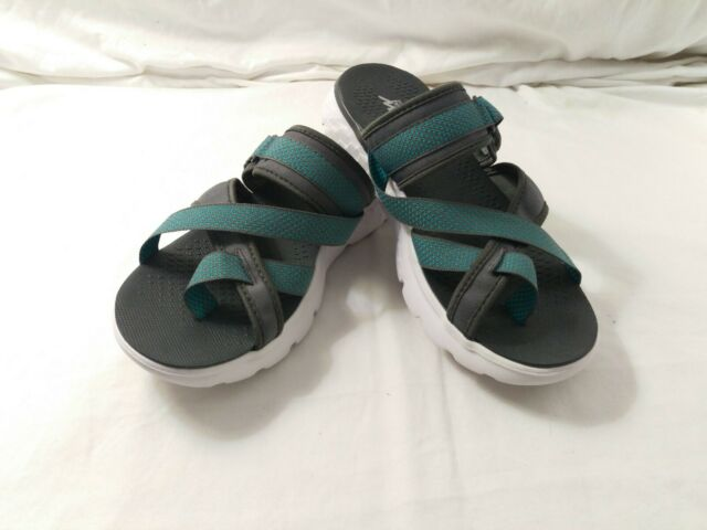 Skechers Performance Women's On The Go 400 Discover Flip Flop,CharcoalBlue 7