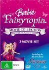 Barbie: Mariposa / Magic of the Rainbow / Mermaidia (DVD, 2008, 3-Disc Set)