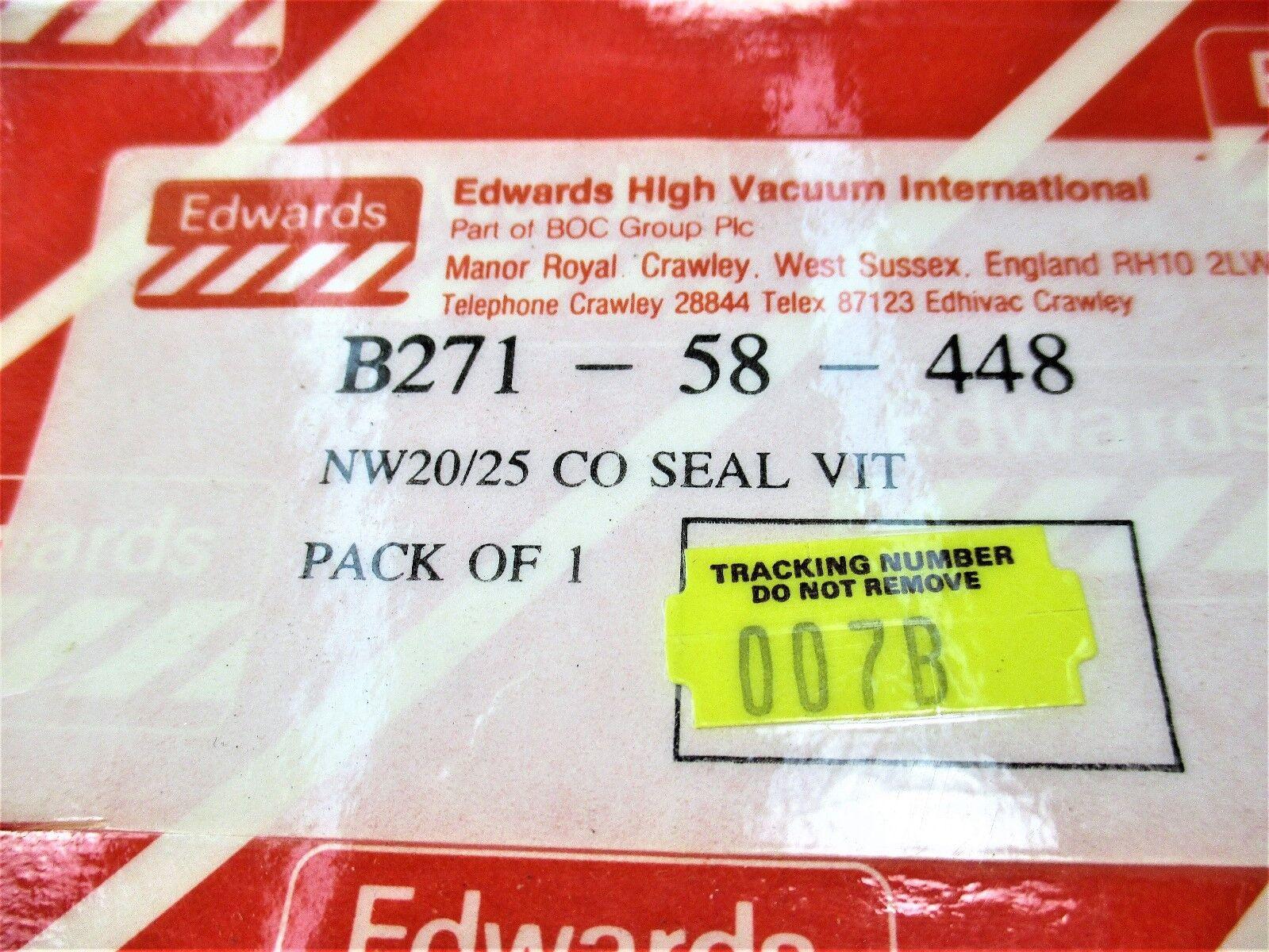 Seal Edwards B271-58-448 COSEAL Nw20/25 VIT Ny66 Bk