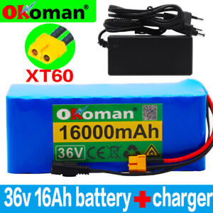 Li-ion Battery 36V 14AH Volt Rechargeable Bicycle 500W E Bike Electric Li-ion