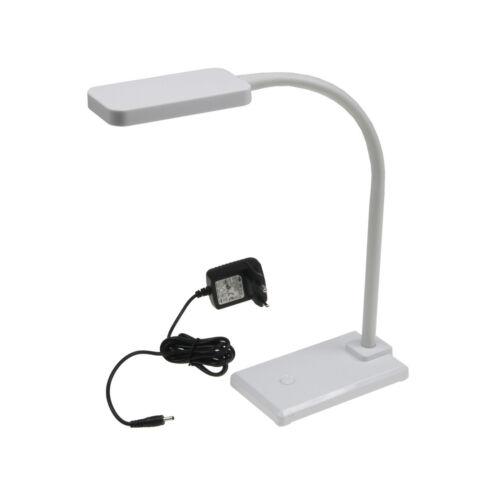 LED Schreibtisch-Leuchte EEK A mit flexiblen Schwanenhals Schreibtischlampe