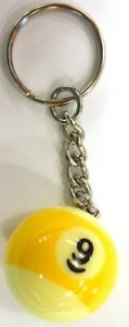 9-Ball-Keychain-New-Neat-Item-FREE-US-SHIPPING