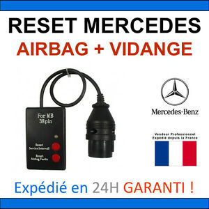 mb reset 38 broches remise z ro vidange entretien airbag star c3 c4 ebay. Black Bedroom Furniture Sets. Home Design Ideas