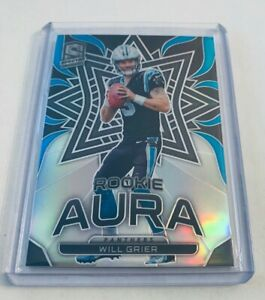 B5-117-2019-Panini-Spectra-Rookie-Aura-5-Will-Grier-99-Panthers